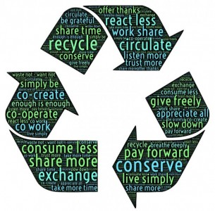 What software management can do to help promote sustainability