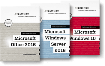 second hand Microsoft volume licences